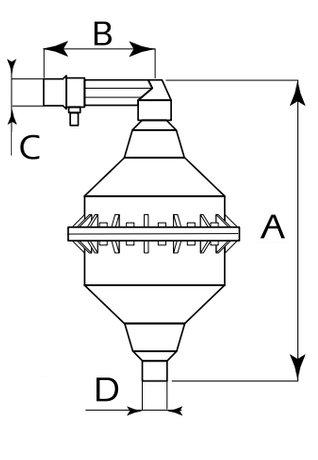 Alimentatore automatico d 39 aria midi for Schema autoclave a cuscino d aria